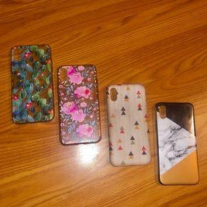 🌸 IPhone X Phone Case